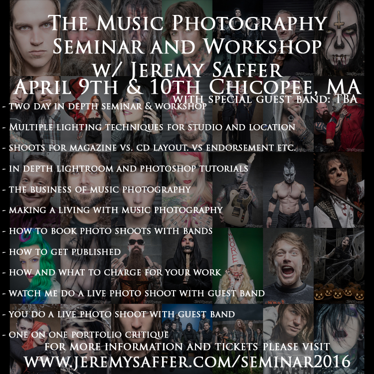 Does anyone know of any music photographers?